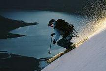 I love skiing! / I grew up skiing every winter.