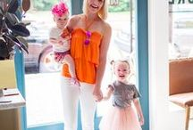 Chic Mom Style / The Chic Series shares easy outfits for the chic mom and moms on the go.