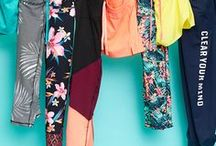 Athleisure Outfits / Chic looks inspired by an athletic sensibility. Comfortable fashion and fashion on the go.