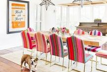 Kitchen & Dining Inspiration / The Best of Modern Home Kitchen and Dining Inspiration.  Featuring bright, open kitchen plans, dining room ideas, seasonal kitchen and dining decor, and kitchen DIYS.
