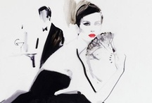 David Downton's Illustration
