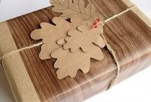 DIY WRAPPING AND GIFT GIVING IDEAS / by Vikki Haywood