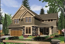 YOUR dream homes! / Here's a collection of the home plans you've pinned. / by Ultimate Home Plans