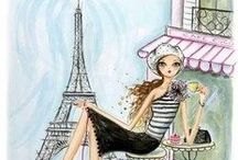 FRENCH CHIC / All things French...tres belle! / by •❈•Sue Finnerty•❈•