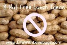 Cooking Nut-Free / We love these delicious recipes. Perfect for people with peanut/nut allergies, but also a delicious treat for everyone!