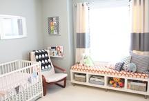 Nursery room/Kid space / by Bonnie Wood