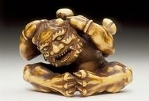 Netsuke / miniature sculptures