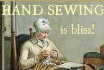 Sewing - Period Dress - The Stitching / by Jessica Maye