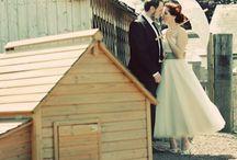 Wedding ~ / http://cwtchthebride.com/real-vintage-wedding-sophie/