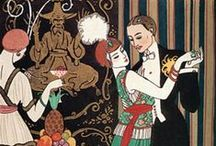 George Barbier / French illustrators of the early 20th century