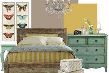 Ashlyn's room / Girls bedroom  / by Kim Lott