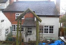 Wren Cottage ~ / Our 300 year old cottage and our first ever renovation