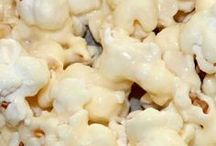 Decadent popcorn / Popcorn met suiker of met zout? Met suiker graag! Maar wist je dat er nog veel meer te kiezen valt als het gaat over popcornsmaken? Kijk maar!