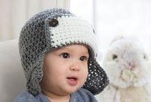 Yarn - Crochet - Littles - Hats/Headgear / by Jessica Maye