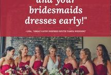 Wedding Planning Advice / Wedding Planning Advice from Marry Me Tampa Bay