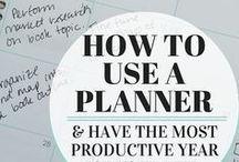 Planners / Planners in alle kleuren en maten en voor elk doel. To do lijstje, tips en prints, allemaal netjes bij elkaar. Als het gepland is, wordt het (meestal) ook gedaan.