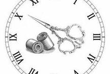 Clockmaker / Printable clocks, diy clocks, decoupage and altering, inspiration for crafting with etc.