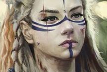 Free Spirit Warrior Women and Goddesses