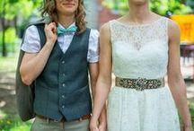 Wedding Ideas / My big, fat, lesbian wedding....someday / by Lindsey Kasecamp