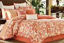 Tommy Bahama Bedding / TOMMY BAHAMA stands for quality and a distinctive lifestyle that appeal to a broad range of consumers who aspire to a calm, relaxed haven away from their busy daily lives. / by BeddingStyle.com