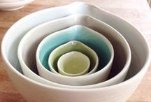 Linda Bloomfield Porcelain / Hand thrown porcelain by Linda Bloomfield