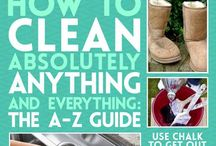 Cleaning Tips / by Sharon Rogers-Anderson