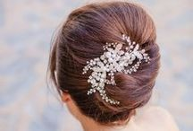 Bridal Hair and Hairpiece Inspiration