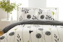 Perry Ellis / Known for the uncluttered simple style; this style is showcased in the Perry Ellis comforters, duvets, and sheets at BeddingStyle.com. / by BeddingStyle.com