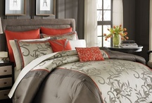 Manor Hill / Manor Hill bedding collections offer luxurious bedding styles in beautiful colorways that reflect the latest home trends for your master bedroom.  / by BeddingStyle.com