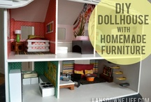 Dollhouse / Modern DIY dollhouses and miniature furniture