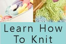 Crafts - Knitting / by Sharon Rogers-Anderson