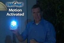 Light Angel  / News, reviews and more on the easy-to-install, motion-detected, wireless outdoor light, that lights your porch, front steps, patio, pool area, etc.