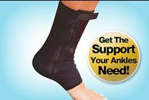 Ankle Genie / Ankle Genie is the new compression ankle support sleeve that's designed with convenient zipper for a perfect fit!