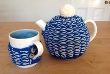 Cosy teapot/mug project / New cosy teapot and mug with Ruth Cross