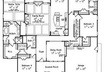 Home - Floor Plans / by Sharon Rogers-Anderson