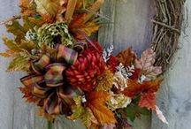 Wreaths/Swags ~ Fall / by LexAnn Kienke