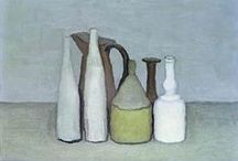 Morandi / Morandi still life paintings