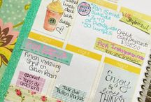 My Planner / EC Planner ideas, printables and more.  / by Rennee Pitts