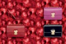 The L'Amour Collection / Hearts, poetry and Camuamour run through the l'Amour Collection designed by Maria Grazia Chiuri and Pierpaolo Piccioli and inspired by the work of Italian pop artist Giosetta Fioroni who exclusively created many unique elements for the Maison. www.valentino.com