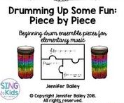 Music Education: Drumming / Find fabulous resources for the elementary music classroom!