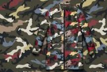 Sleek Camouflage | Menswear Fall/Winter 2015-16 Collection / The interpretation of Camouflage by the Creative Directors takes on its sleekest incarnation for the upcoming Fall/Winter 2015-16 season.  www.valentino.com