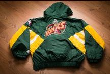Vintage Sports Outerwear / Vintage sports outerwear for sale on ForTheSportsFan.com.