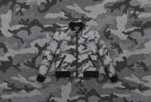 Camucouture / The savoir-faire of Haute Couture penetrates the Fall/Winter 2015-16 menswear collection. This season, the iconic and energetic Camouflage pattern has been meticulously crafted in four tones of grey felt. www.valentino.com