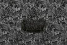 Camubutterfly Noir | Women's Collection / The unique butterfly motif acts as a metaphor for the house's values of beauty, elegance and lightness and as a physical representation of a dream. This motif is proposed in an intricate blend of dark nuances translating into the Camubutterfly Noir Collection.  www.valentino.com