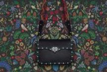 Rock the trend   Spring 2016 Accessories Collection / Let yourself be seduced by a rock n'roll flair interpreted in the most luxurious Valentino way. www.valentino.com