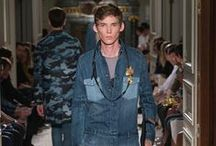 Denim trend | Men's Spring/Summer 2016 Collection / In line with the Men's Spring/Summer 2016 collection full of intuition, instinct, and emotion, Creative Directors Maria Grazia Chiuri and Pierpaolo Piccioli introduce denim as a textile of choice for telling a contemporary and timeless story.