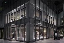 Valentino Omotesando Boutique   Tokyo / Valentino is pleased to announce the opening of its new Omotesando Flagship boutique in Aoyama, Tokyo.