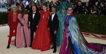 The Met Gala 2018 / As the curtain raises on the Costume Institute Gala 2018 - 'Heavenly Bodies: Fashion and the Catholic Imagination', Frances McDormand, Anne Hathaway and her husband Adam Shulman, Troye Sivan, Bee Shaffer, Adut Akech and Hamish Bowles along with Creative Director Pierpaolo Piccioli attended the event all dressed in a selection of #ValentinoHauteCouture looks. www.valentino.com #MetHeavenlyBodies