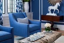 Decorating {Blue} / by Katrina {Katrina Dawn Interiors}