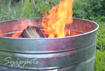 Camping {Vignettes, Menus, and Inspriation}